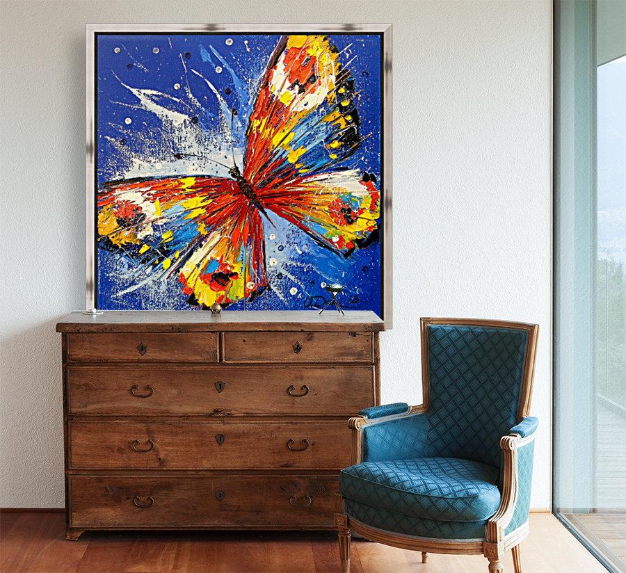 The butterfly  Art