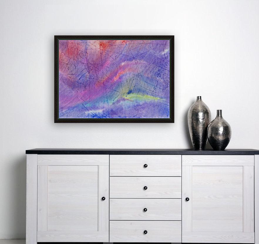 Abstract Mauve wave  Art