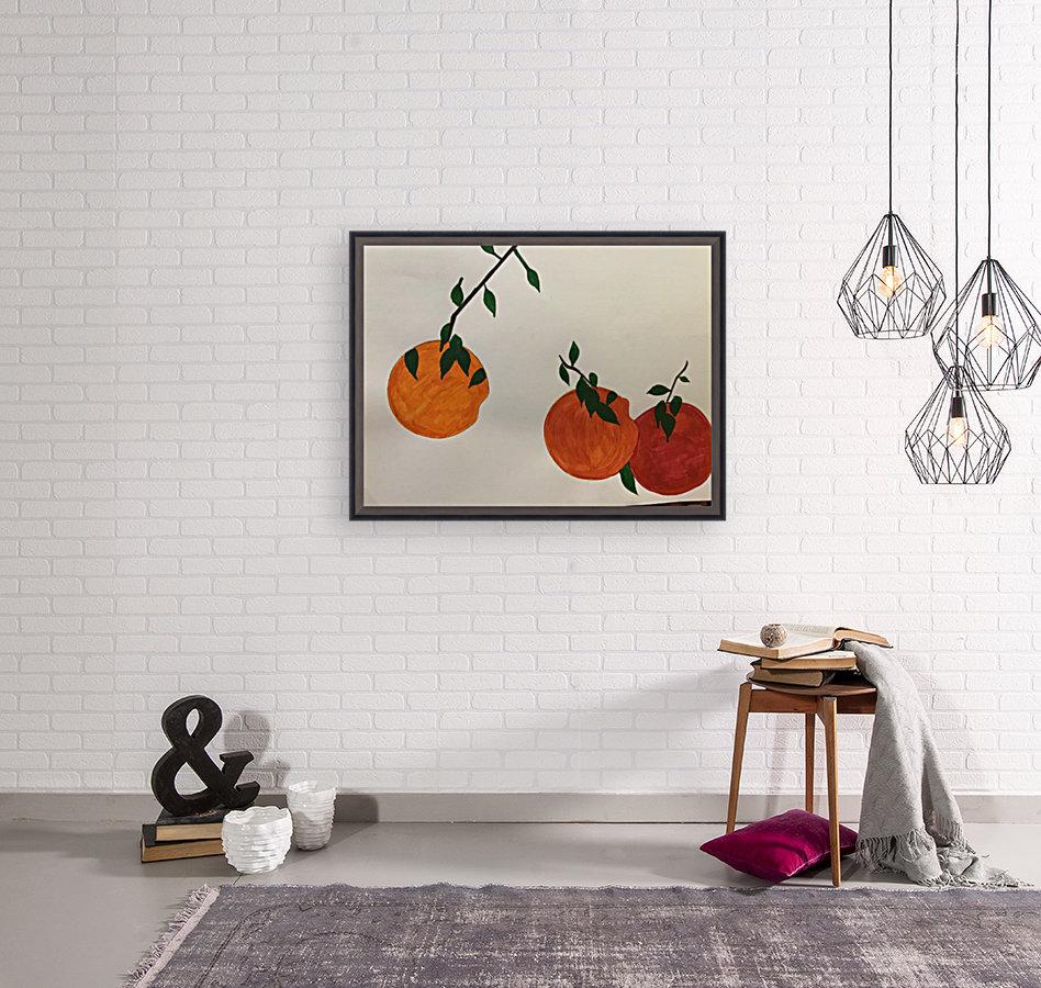 Orange You in Love  Art