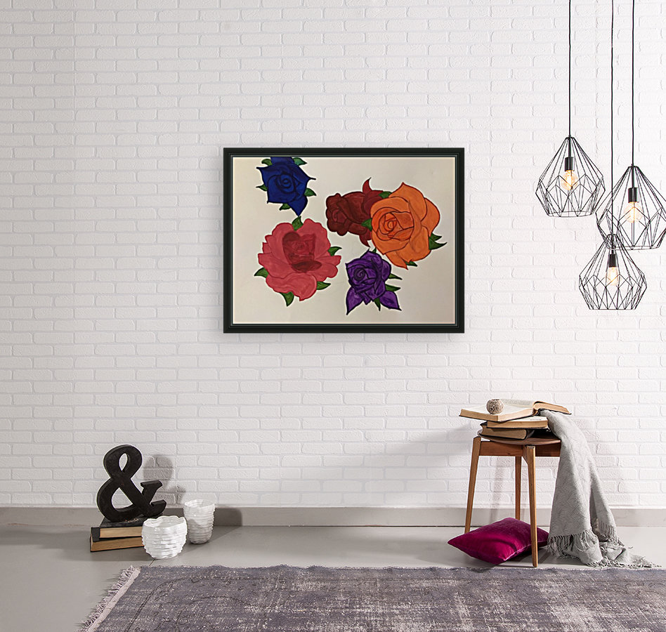 Diversity in Roses with Floating Frame