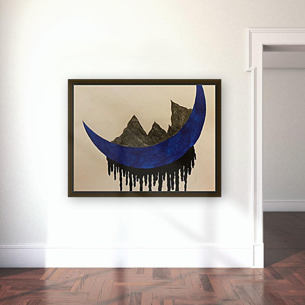 Mountains on the Moon  Art