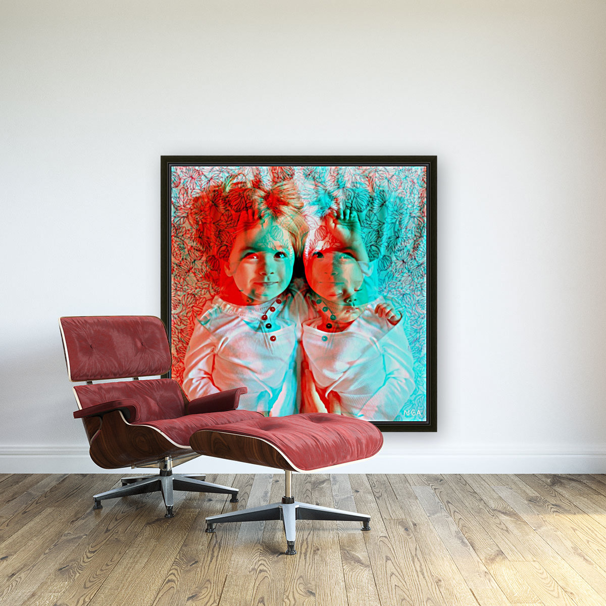 Baby Love  -  by Neil Gairn Adams  Art