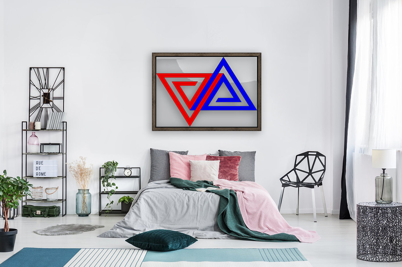 Halimessa - connected triangles  Art