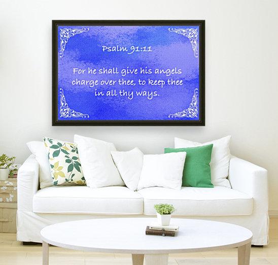 Psalm 91 11 5BL  Art