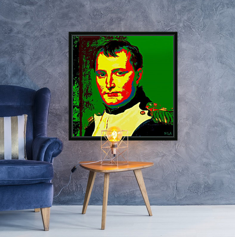 NAPOLEON  -  by Neil Gairn Adams with Floating Frame