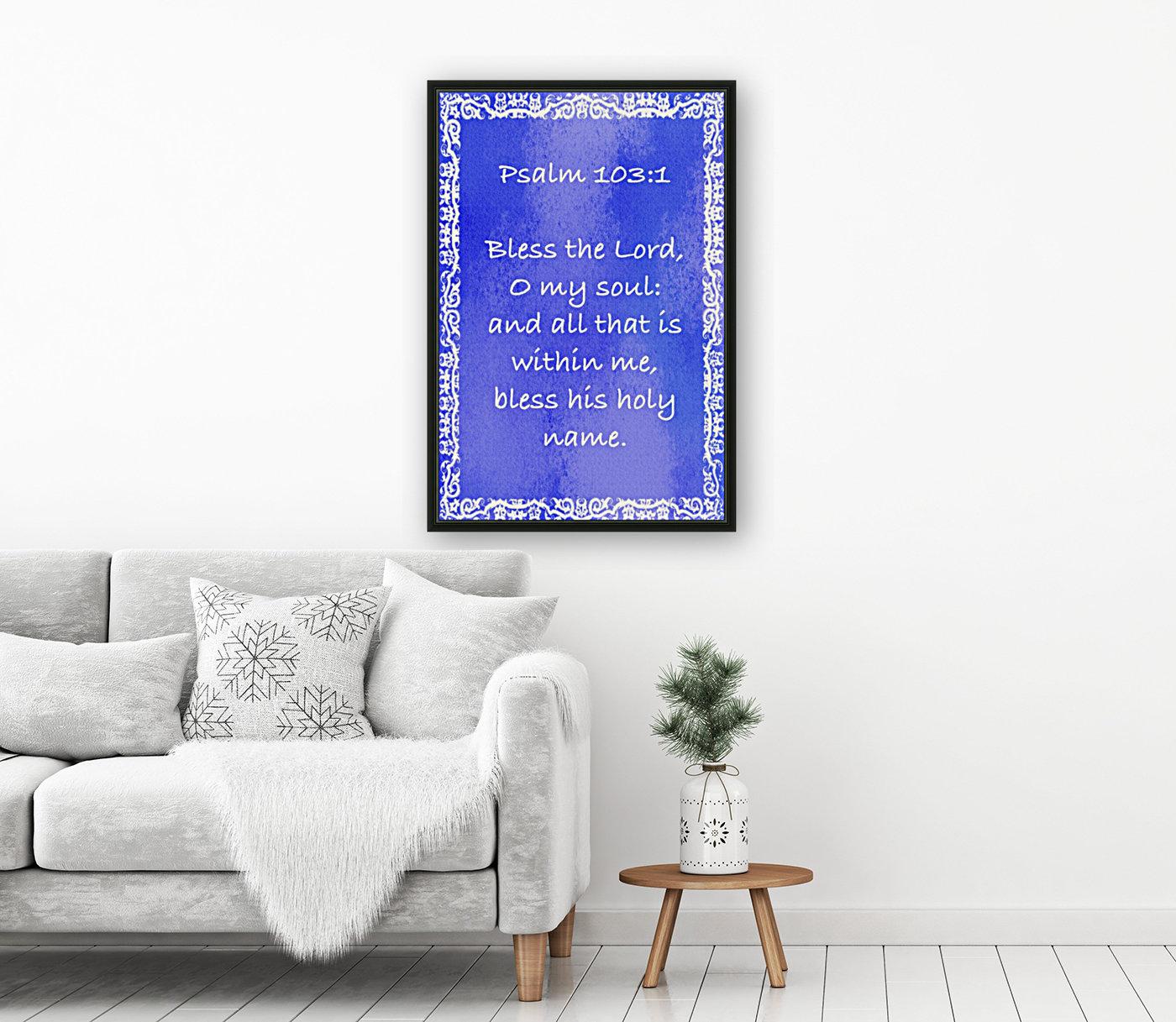 Psalm 103 1 10BL  Art