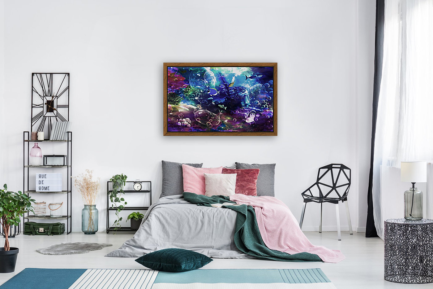 Deep sea 1 with Floating Frame