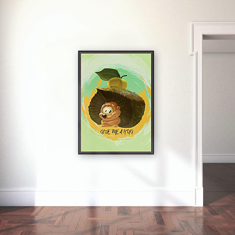 Cute Hedgehog  Art