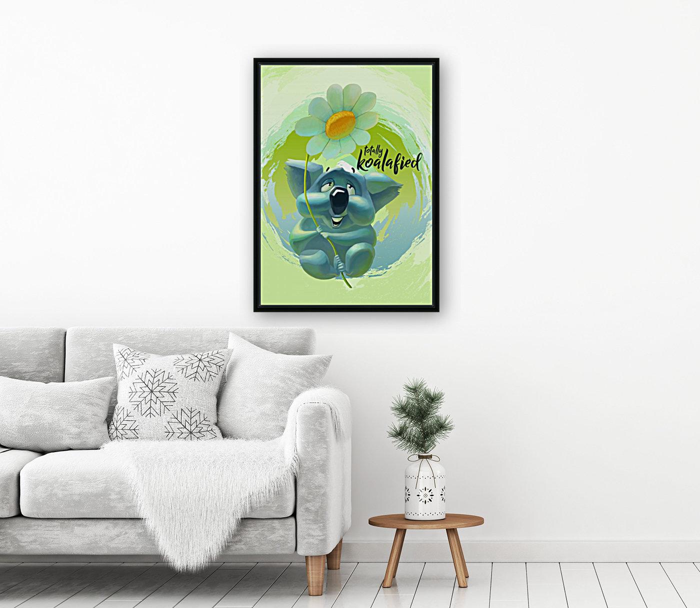 Cute Koala  Art
