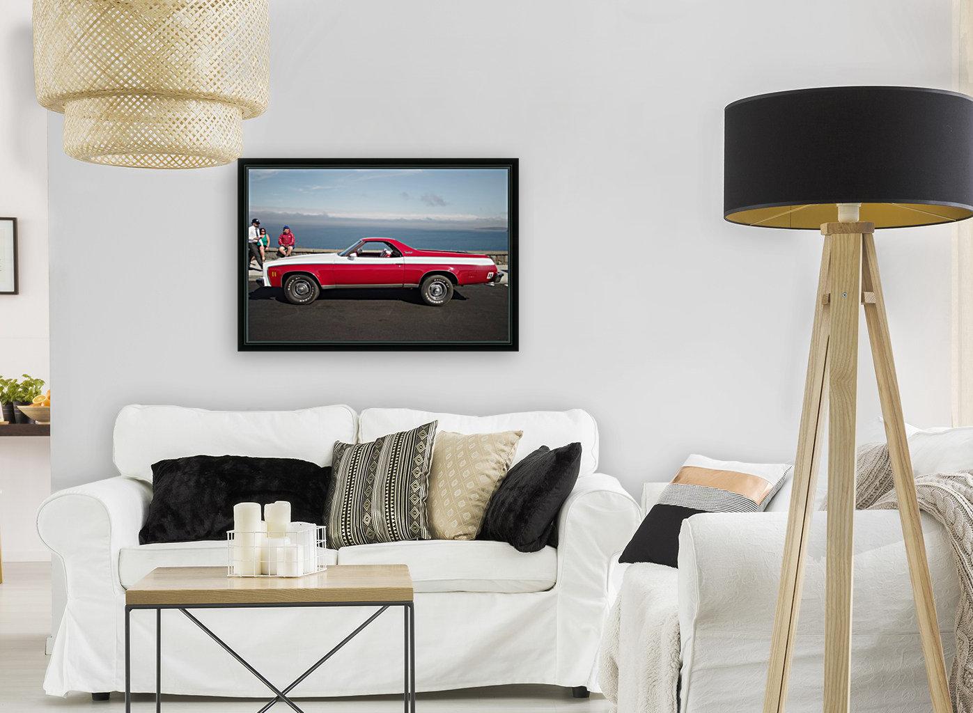 GMC Sprint Utility Pickup coupe combo  Art