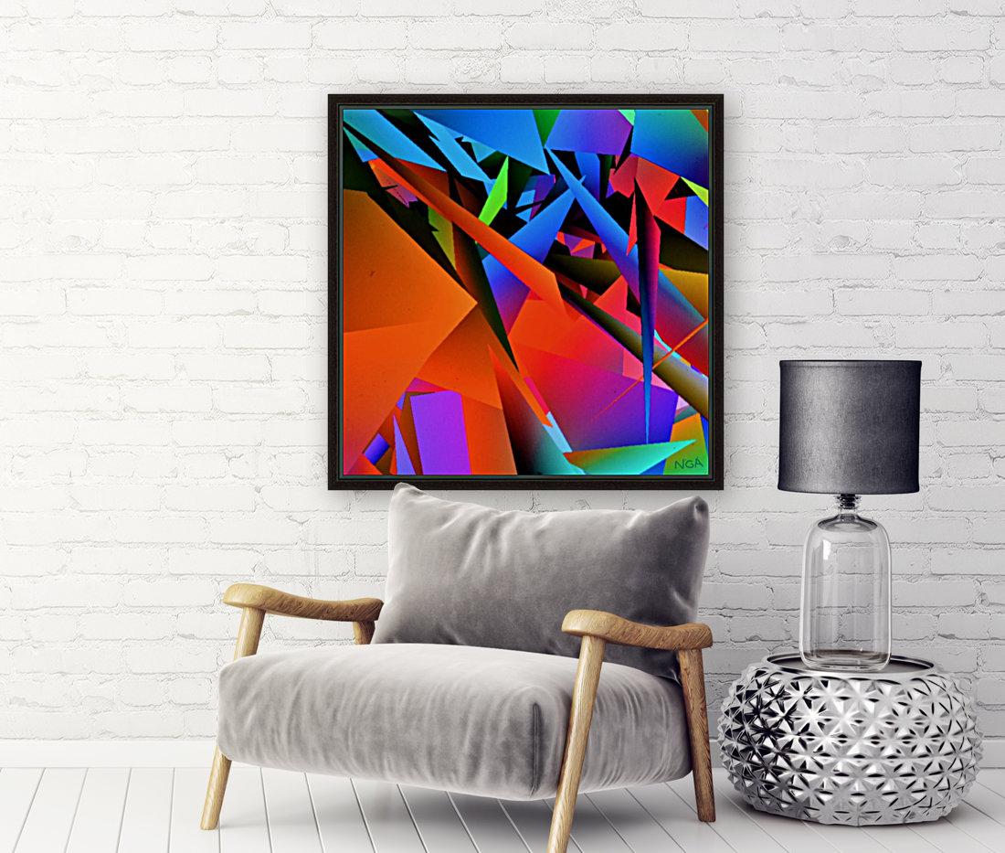 Dimensions -  bY Neil Gairn Adams   Art