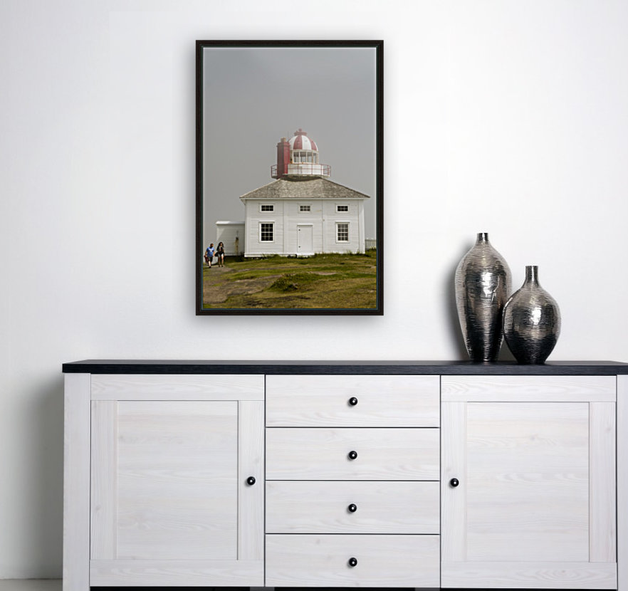 Original Cape Spear Lightkeepers house and light tower built in 1836 2  Art