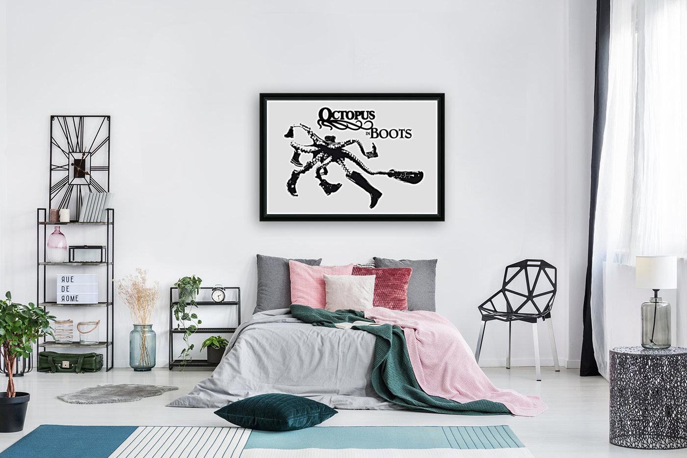 Octopus in Boots  Art