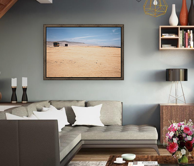Reserva Nacional de Paracas with Floating Frame