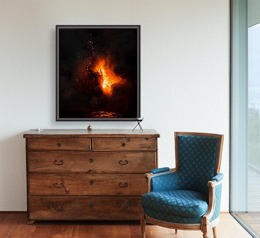 Lava explosion  Art