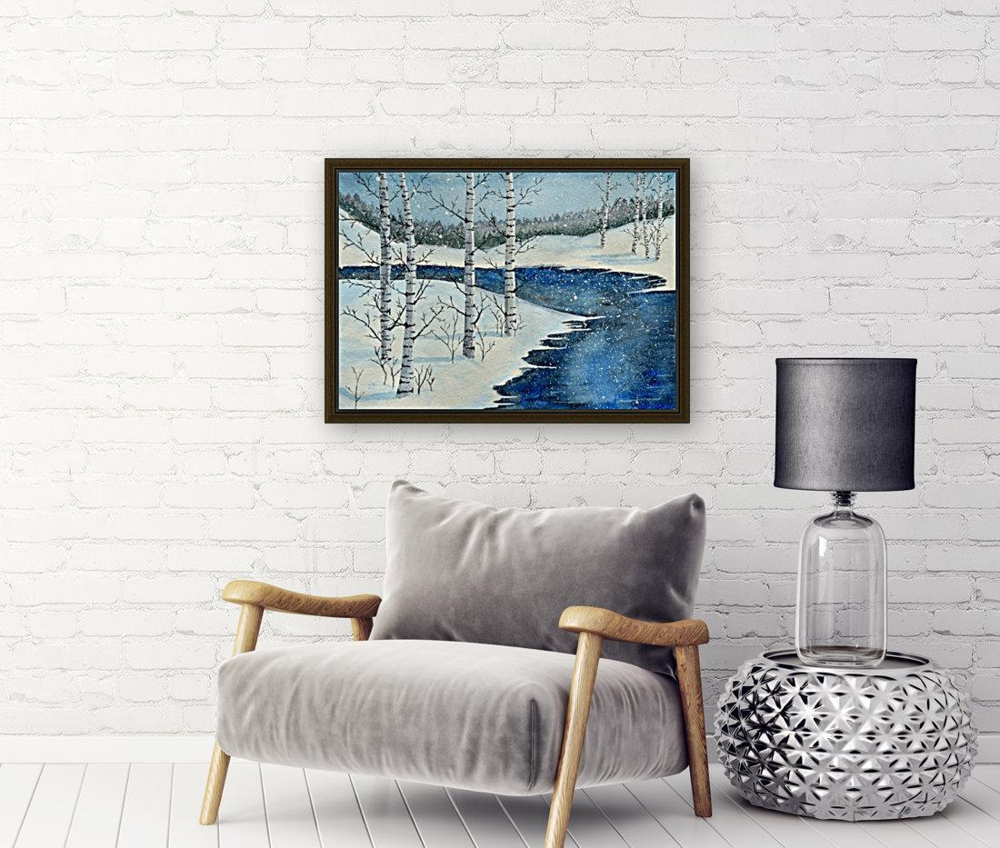 Winter Blues  Art