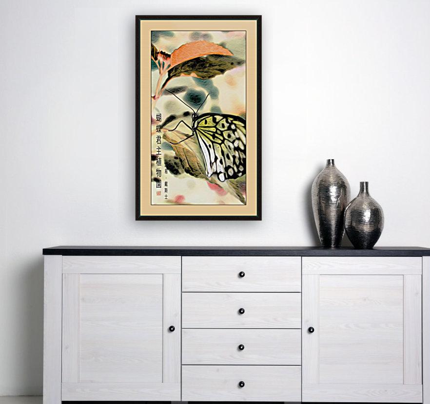 Papillon chinois   Art