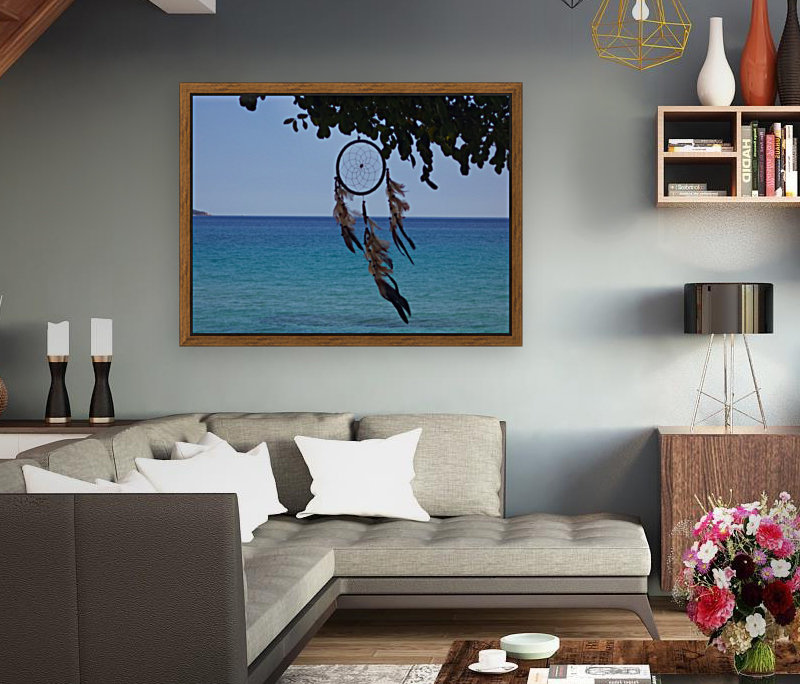 Dreams by the sea with Floating Frame