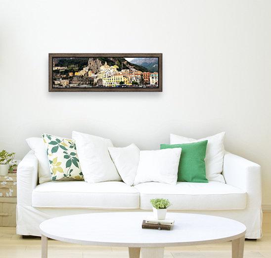 Amalfi Coast Super Panoramic   Art