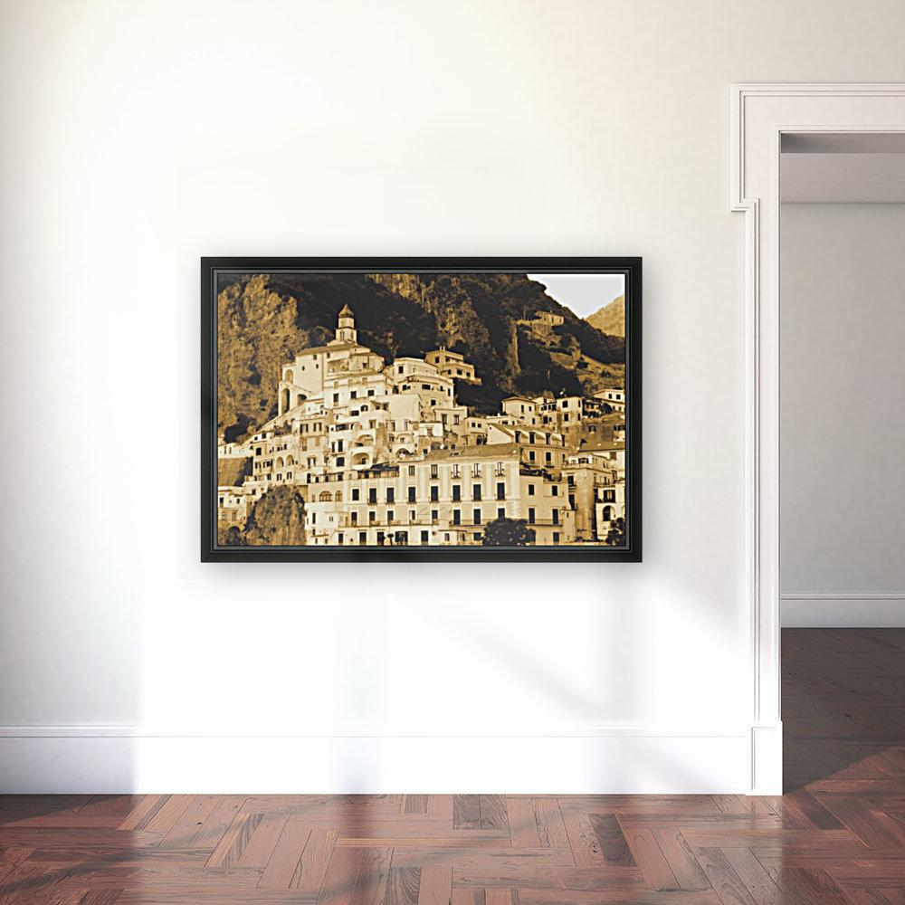 Landscape - Amalfi Village - Italy  Art