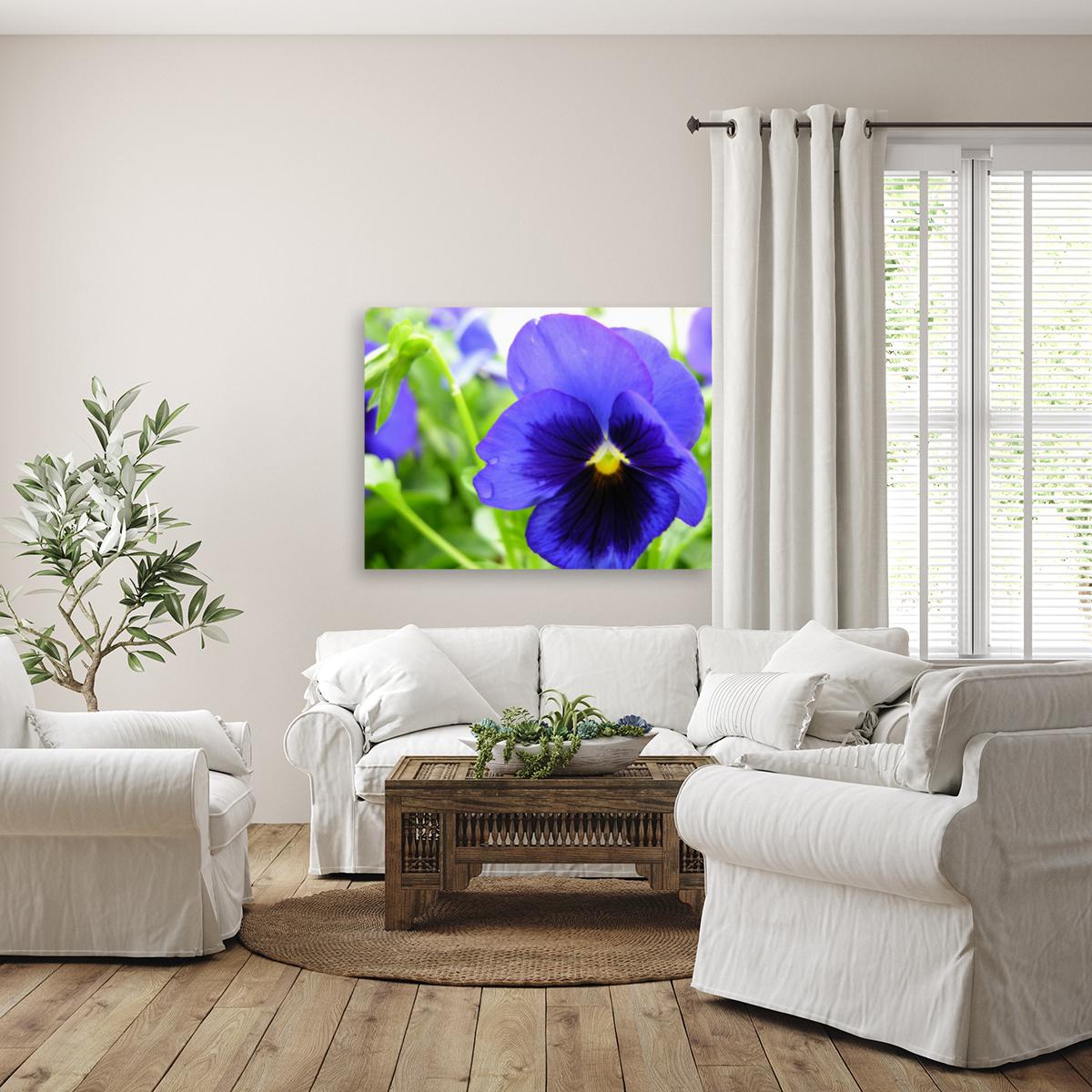 Blue Flowers Photograph  Art