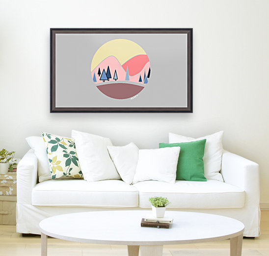 Somewhere over the Mountains  Art