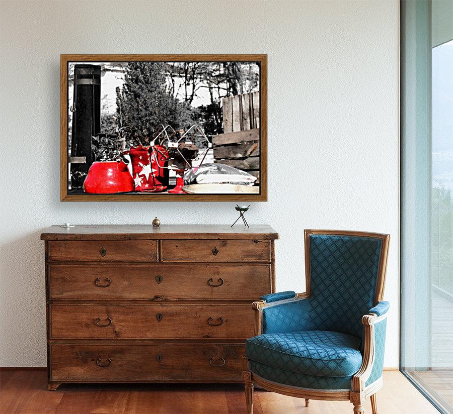 Red Kettle  Art