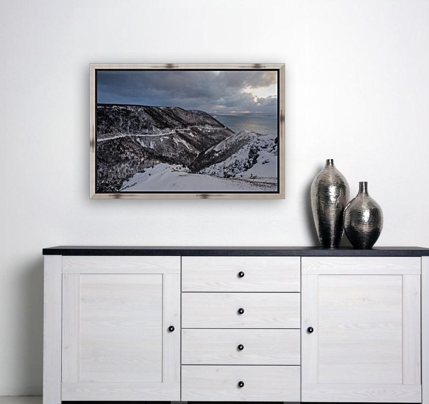 Snowy Skyline  Art