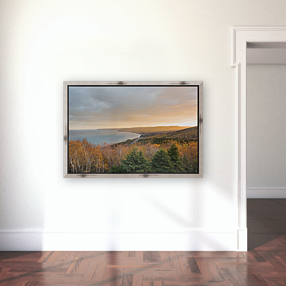 Rising Light with Floating Frame