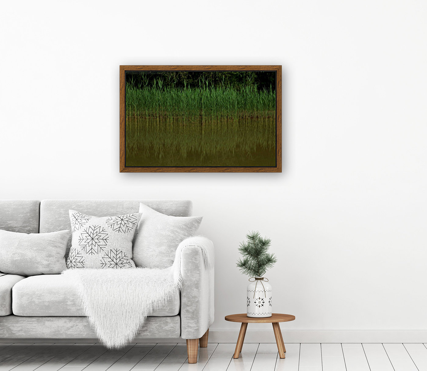 keep it green with Floating Frame