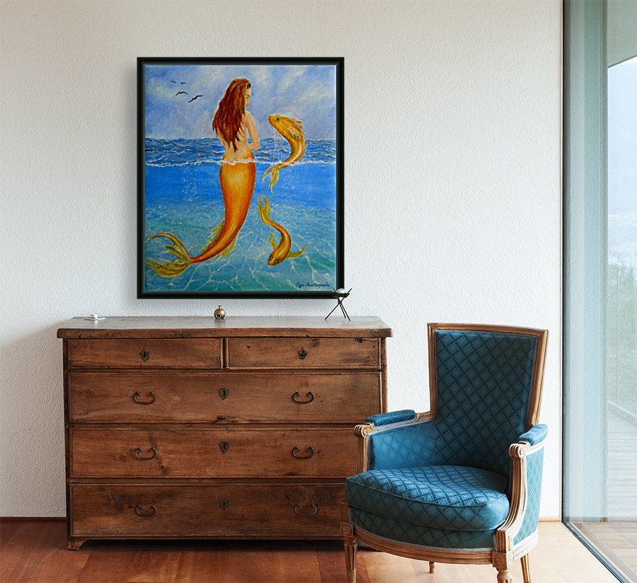 The Sea Nymph with Floating Frame