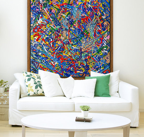 BLUE WORLD II  Art