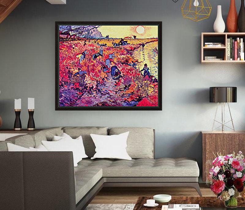The red vines by Van Gogh  Art
