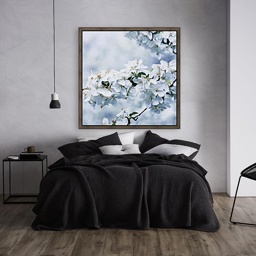 Cherry tree flowers  Art
