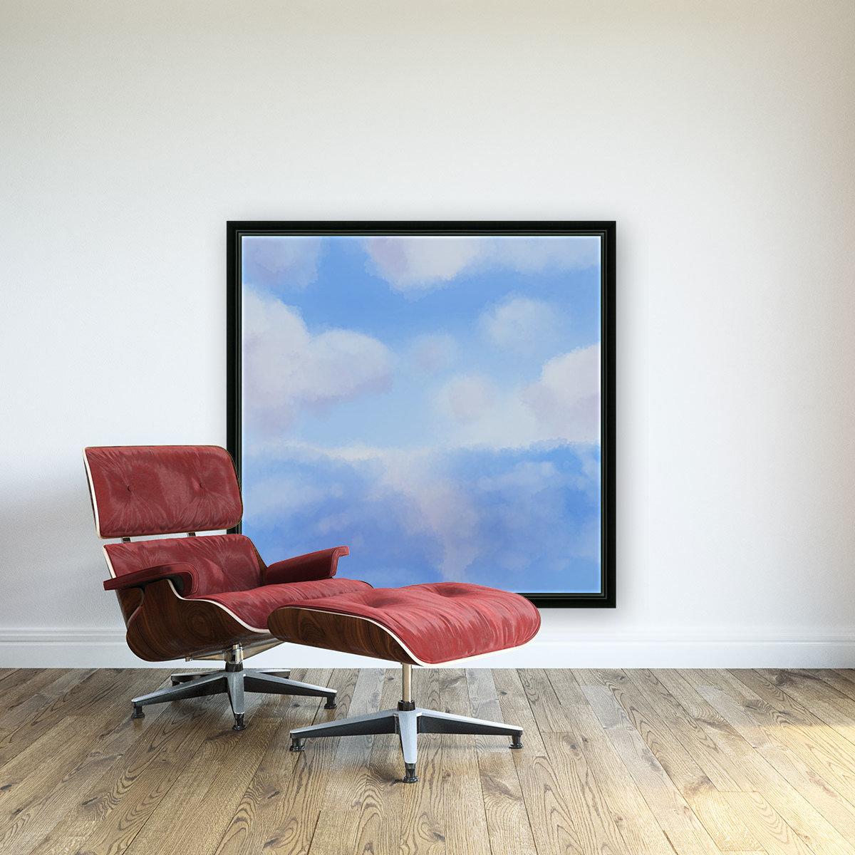 Happy Clouds - Original Artwork  Art