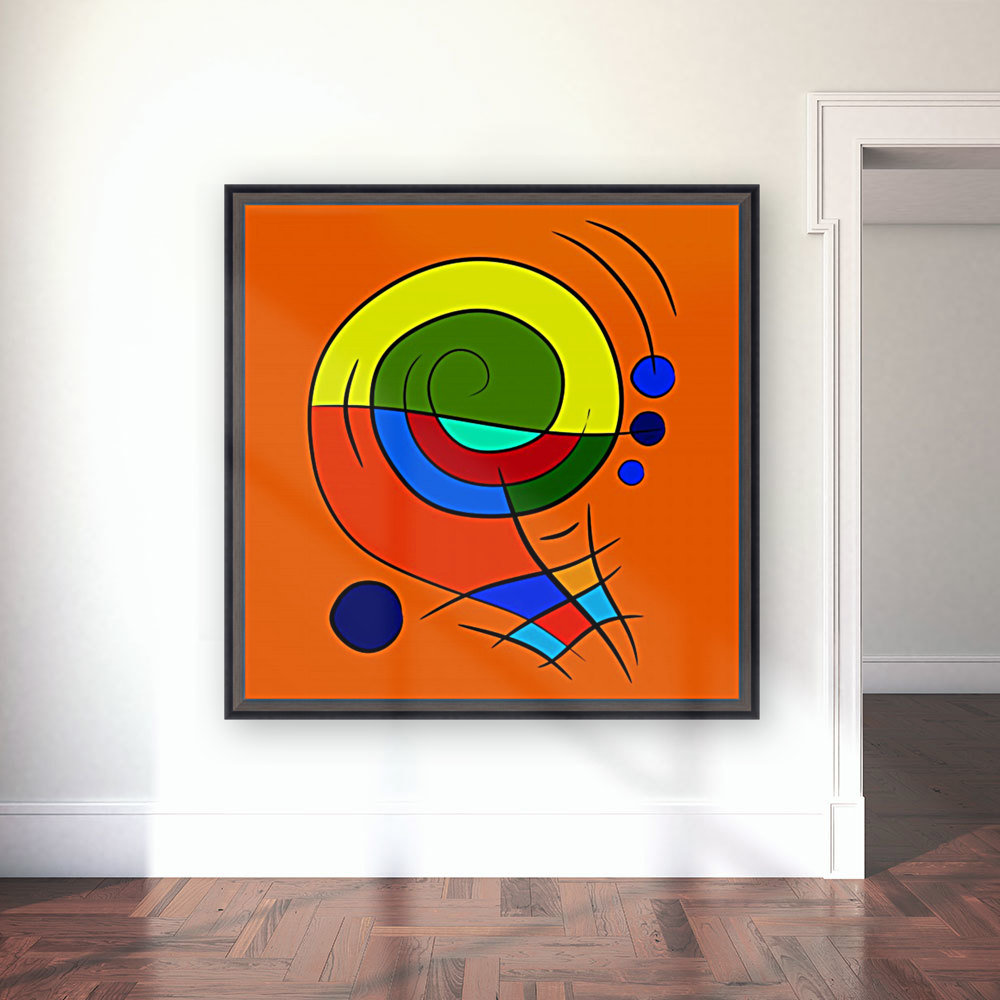 Dessimiano - the colourful snailophone with Floating Frame