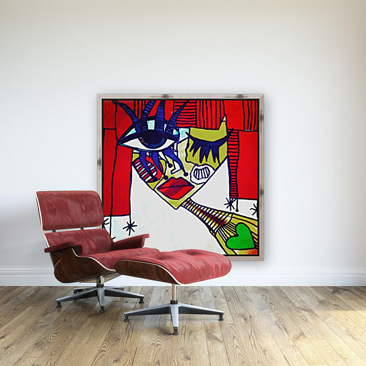 Red Warhol  Art