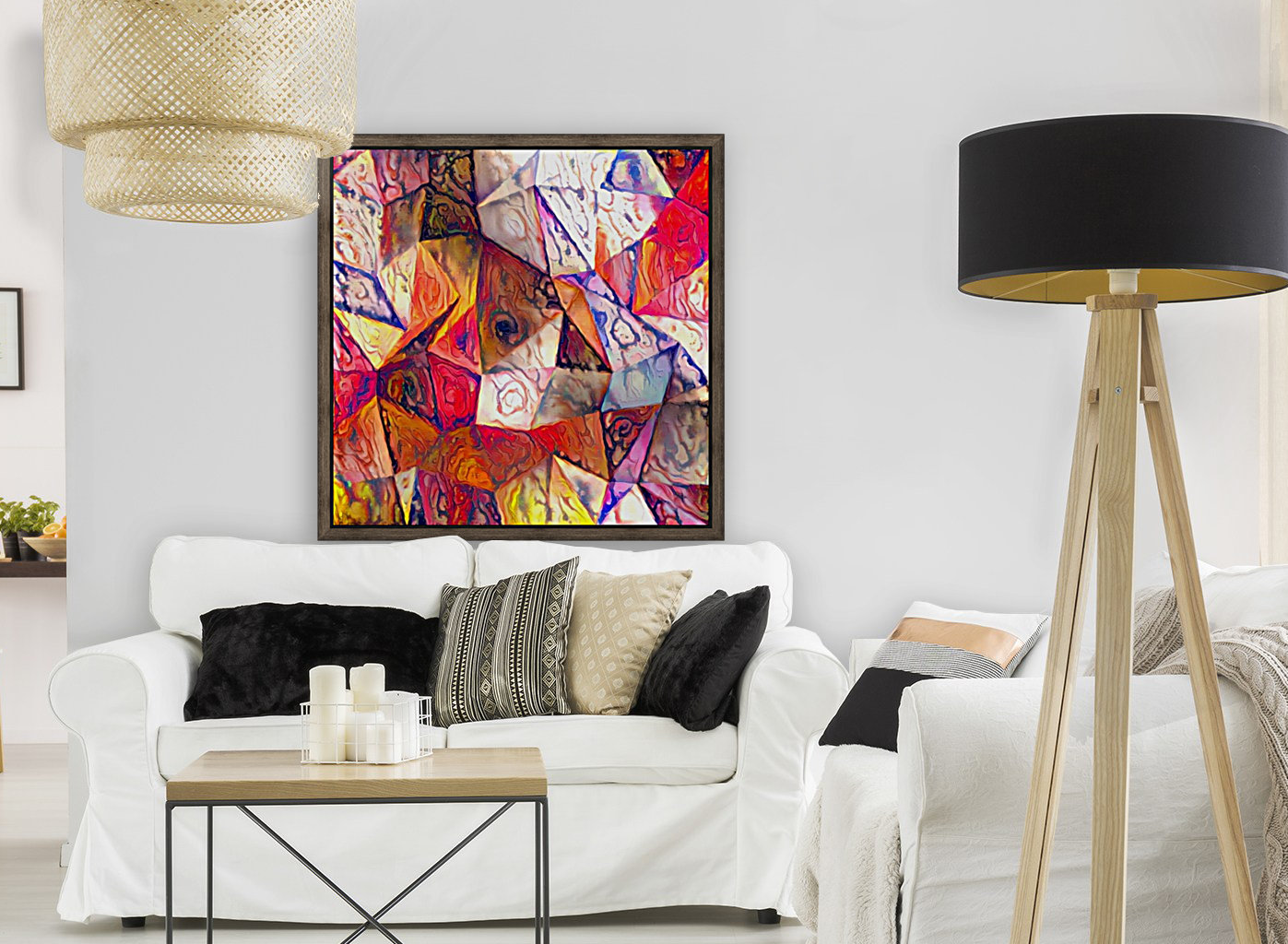 Modern Digital Abstract Painting  Art