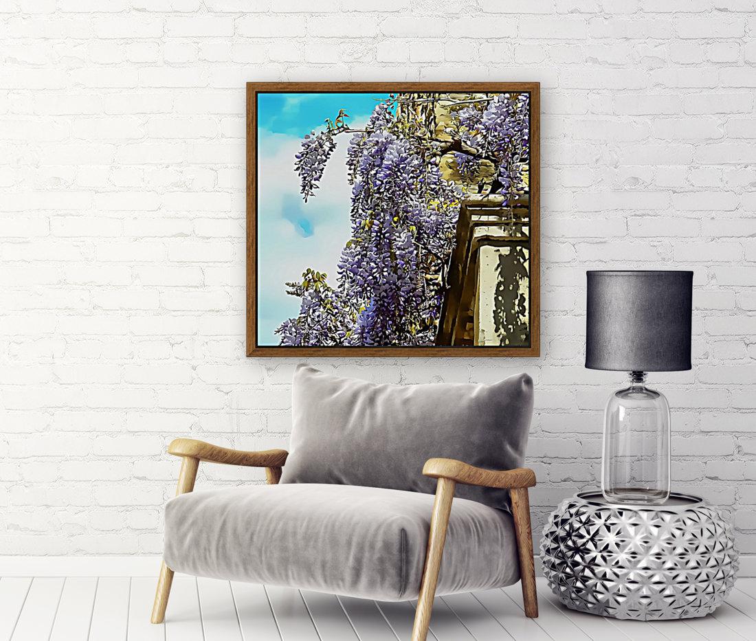 Wisteria Cascade  Art