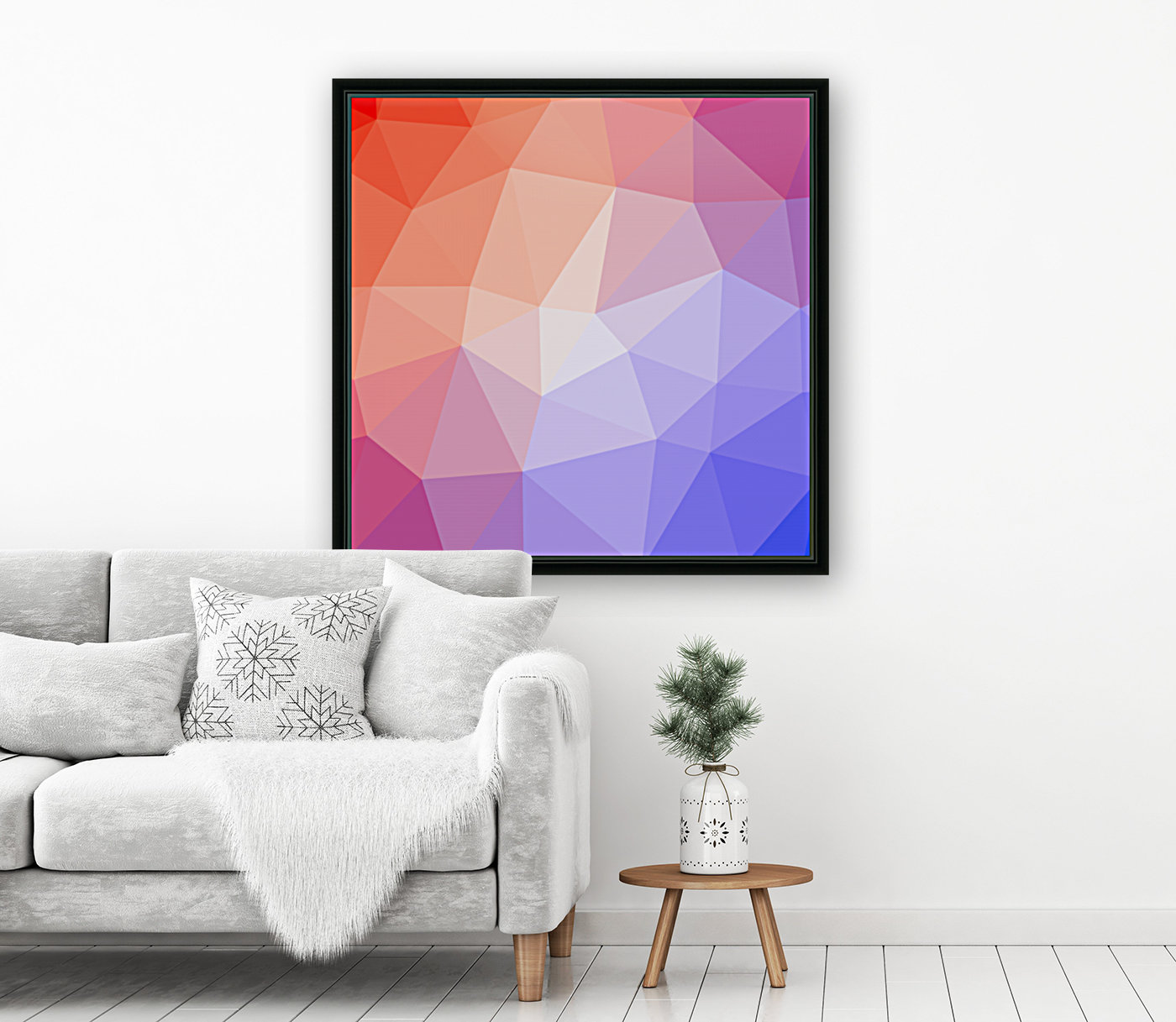 Abstract art patterns low poly polygon 3D backgrounds, textures, and vectors (9)  Art