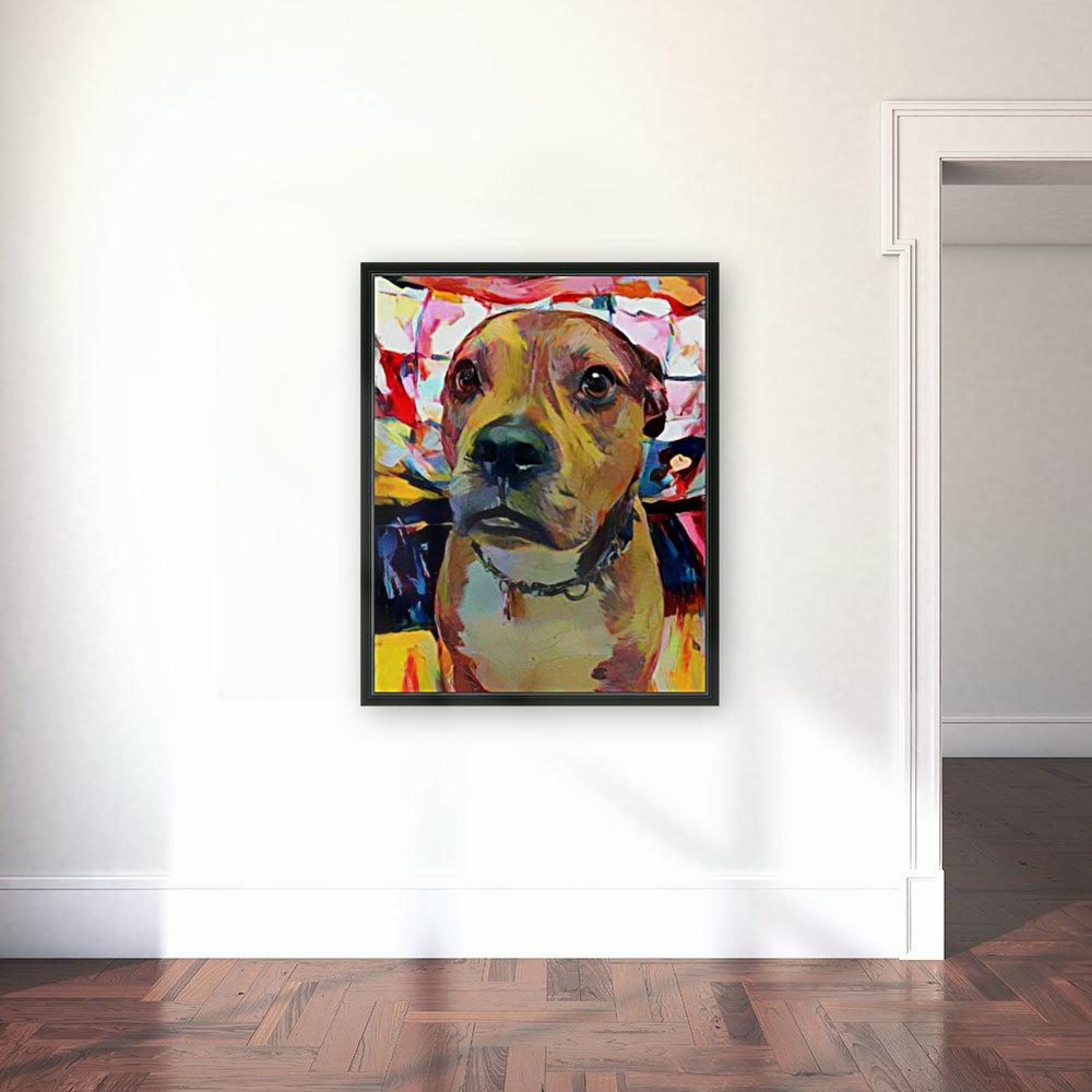 Dog Painting (5)  Art
