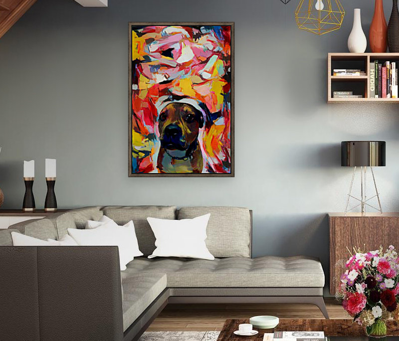 Dog Painting (10)  Art