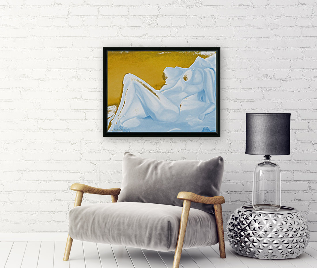 Ecstasy In Gold And Ice  Art