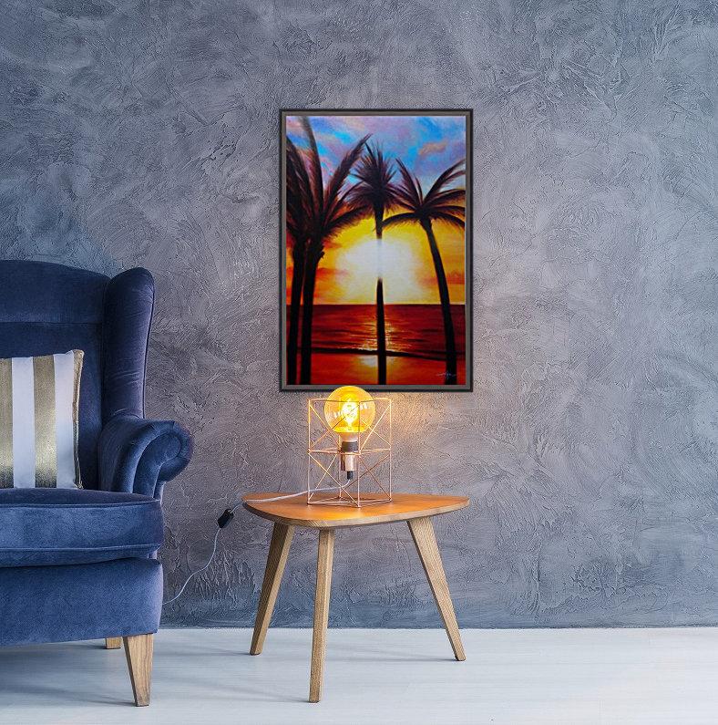 Waikiki Sunset  Art