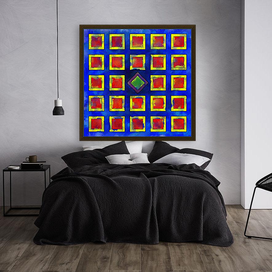 Verhomera - abstract cube worlds  Art