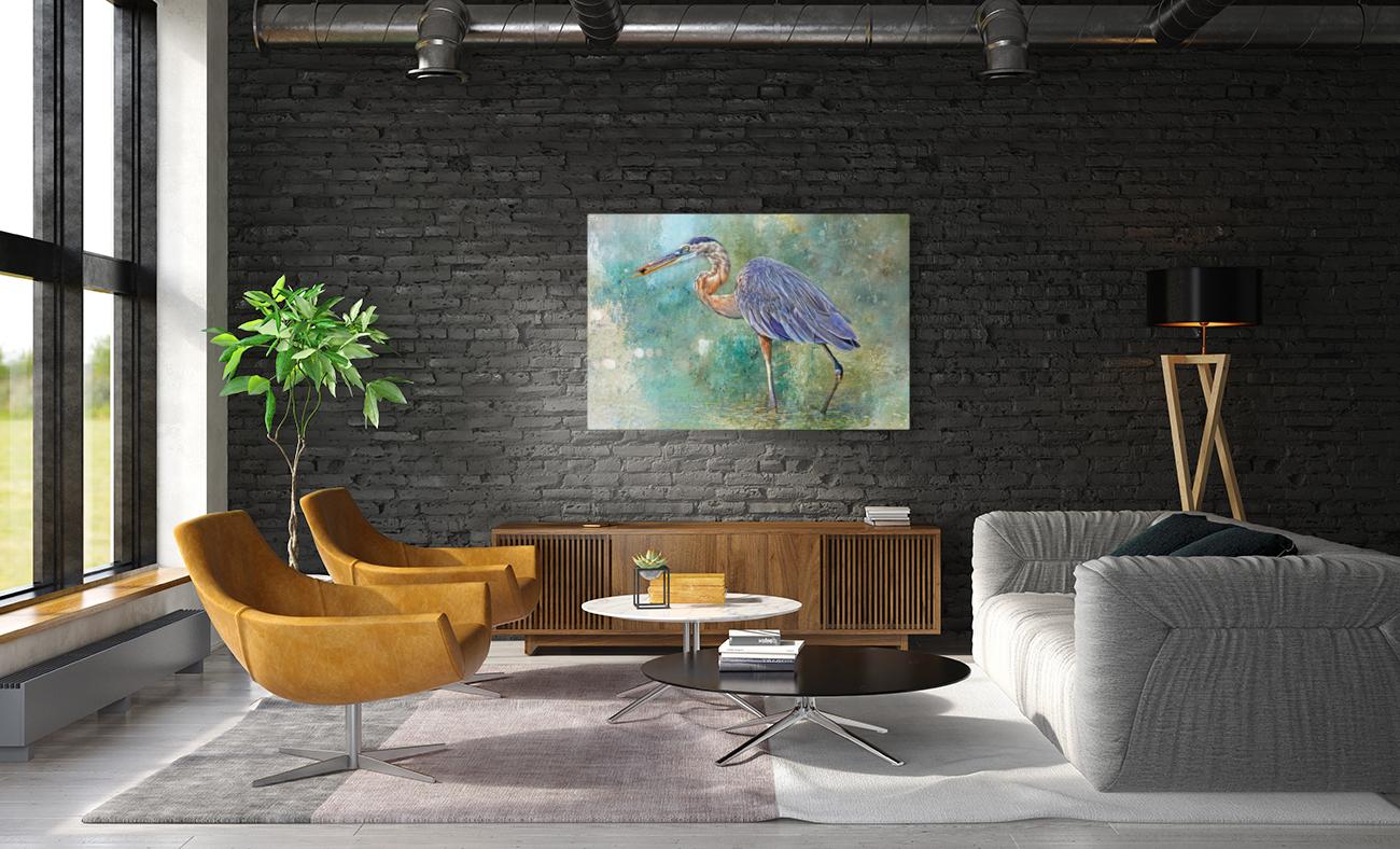 Fishing With Big Blue  Art