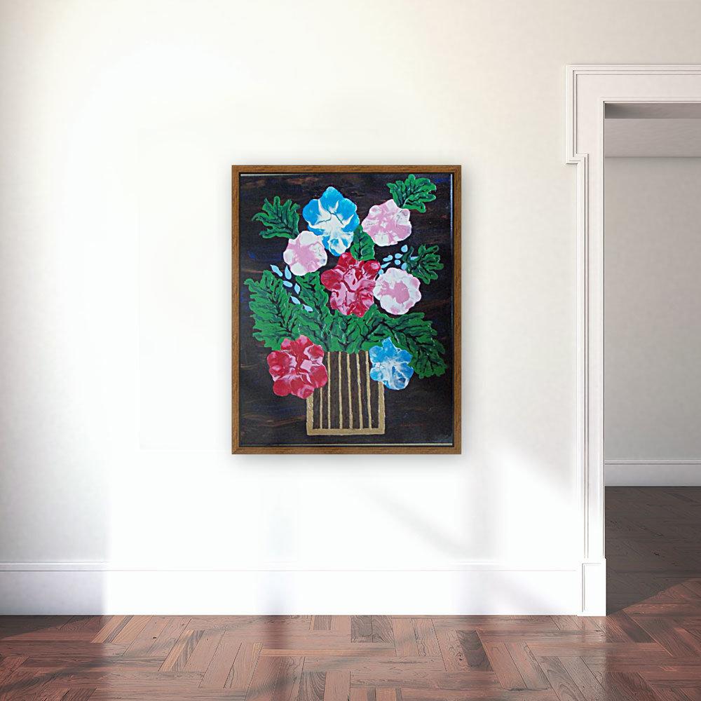Flowers in box  Art