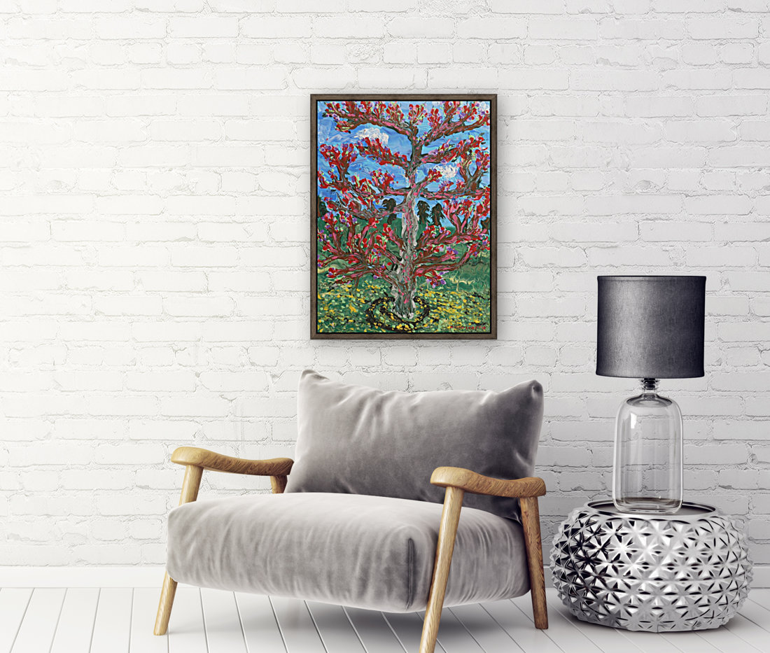 Cherry tree with Floating Frame