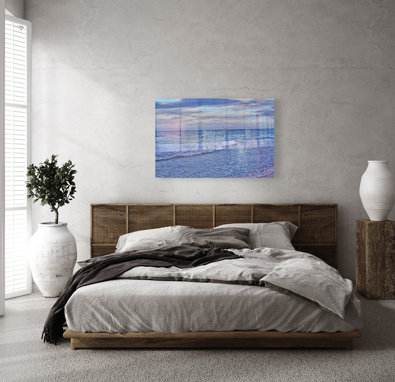 On The Deep Blue Sea with Floating Frame