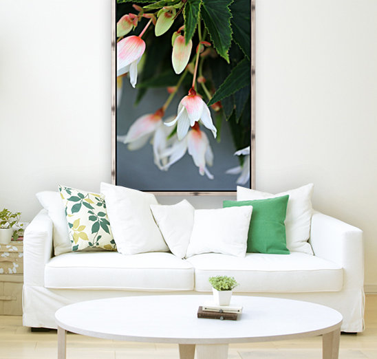 Soft Floral with Gray Wall 2 062618  Art